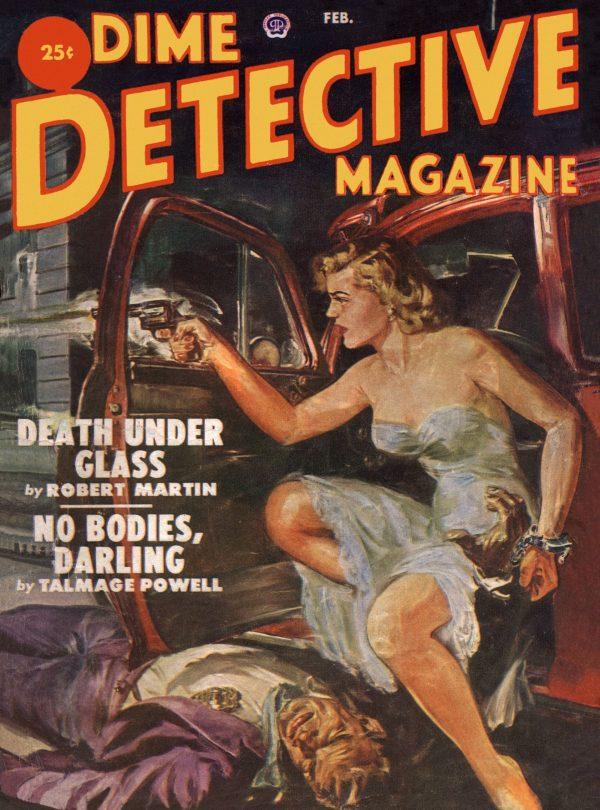 Dime Detective February 1952