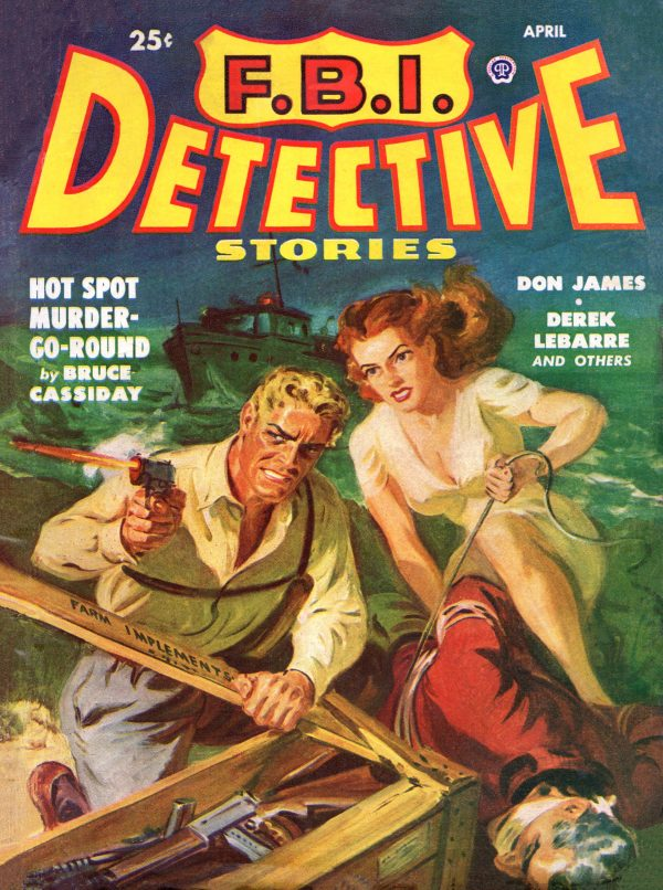 F.B.I. Detective Stories April 1949