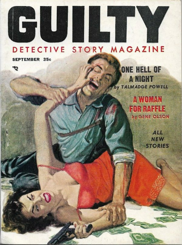 Guilty Detective Story Magazine September 1957