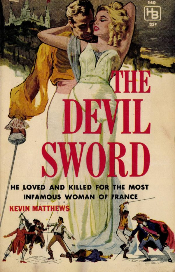 Hillman Books #140 1960 The Devil Sword
