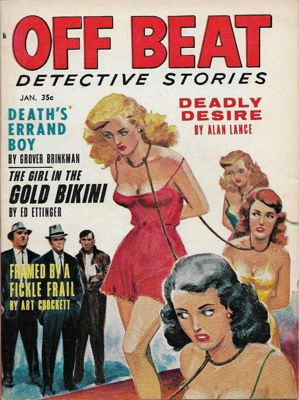 Off Beat Detective January 1963