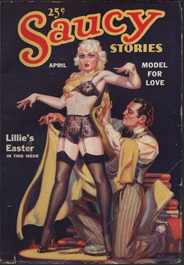 Saucy Stories 1936 April, #7