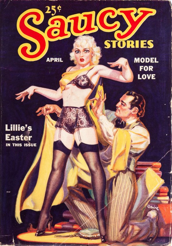 Saucy Stories April 1936