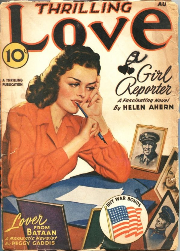 Thrilling Love August 1943