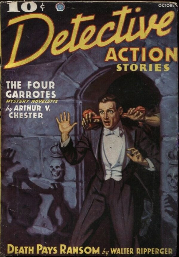 Detective Action Stories 1936 October