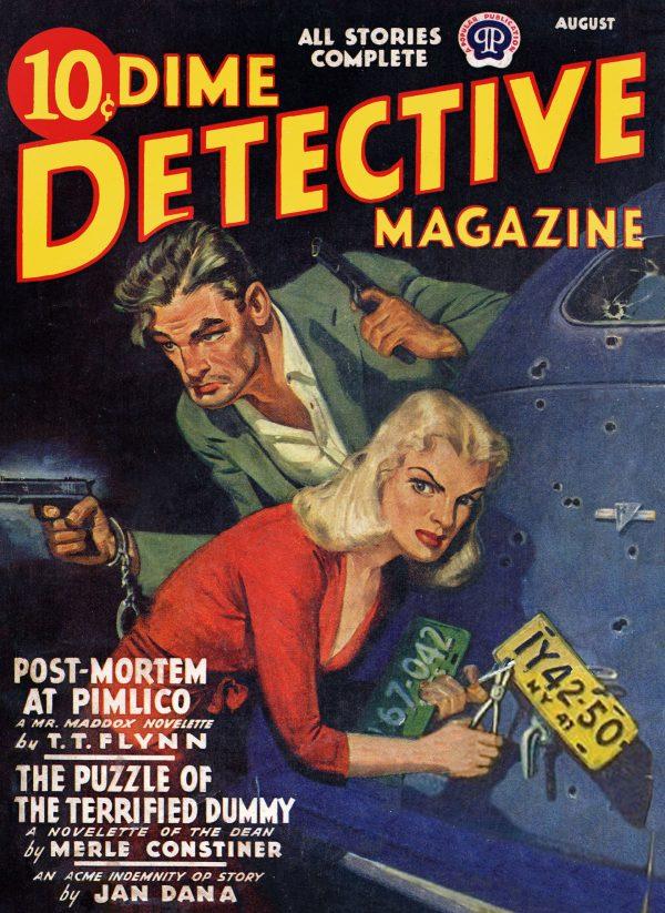 Dime Detective August 1941