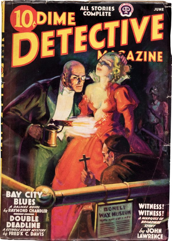 Dime Detective Magazine - June 1938