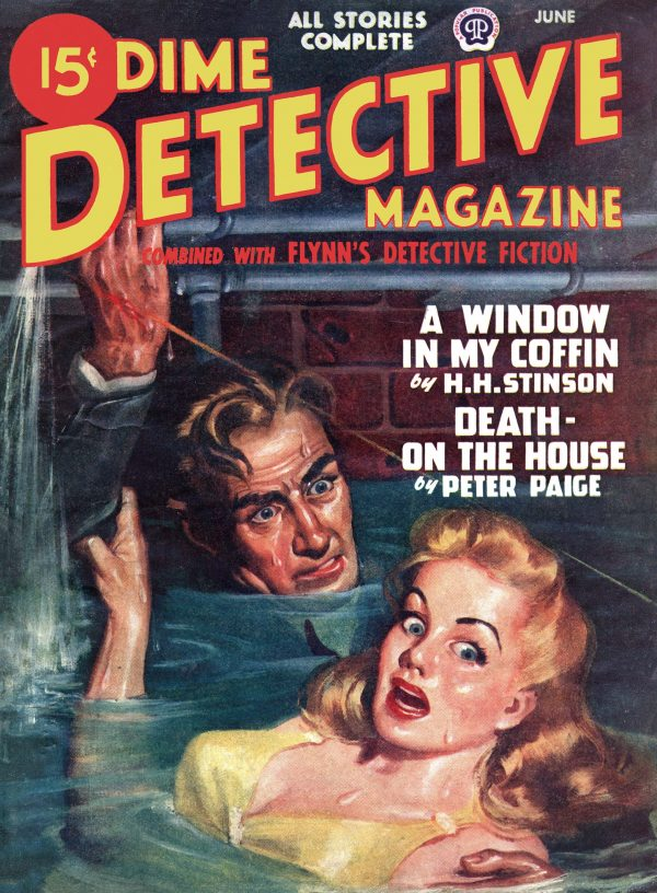 Dime Detective Magazine June 1947