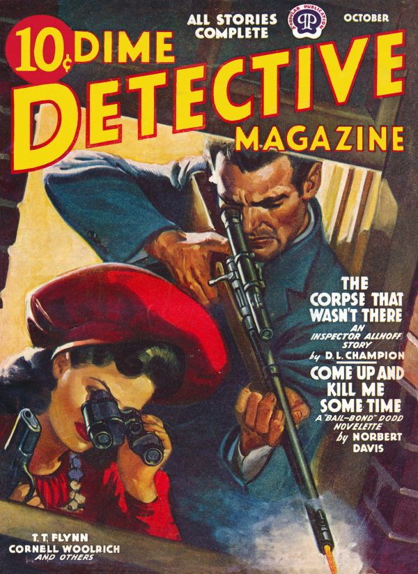 Dime Detective October 1941