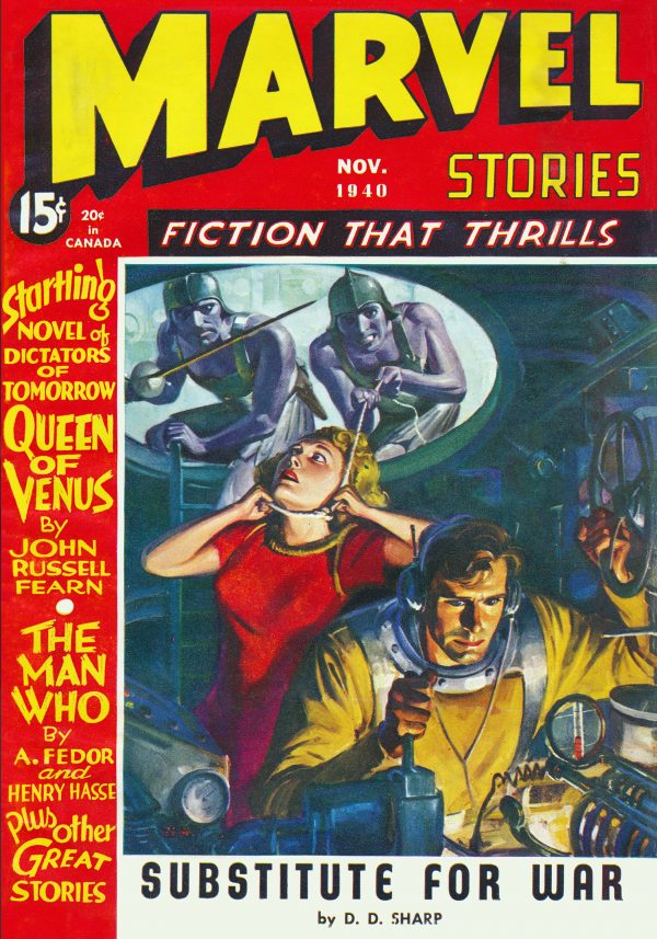 Marvel Stories November 1940