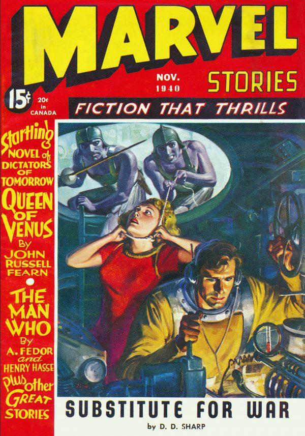 Marvel Stories November 1940