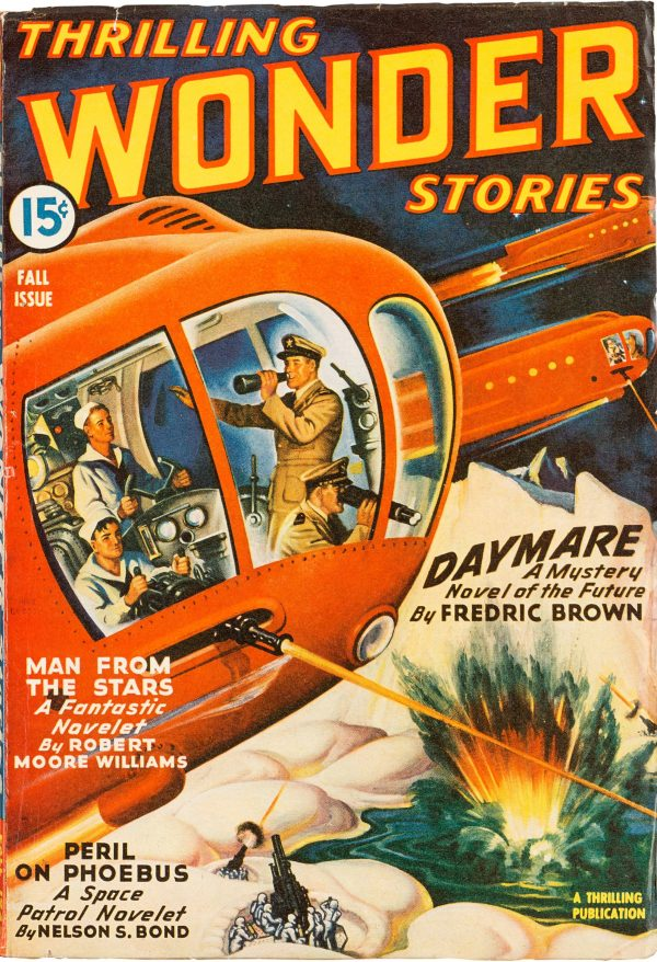Thrilling Wonder Stories - Fall 1943