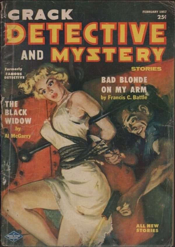 Crack Detective 1957 February