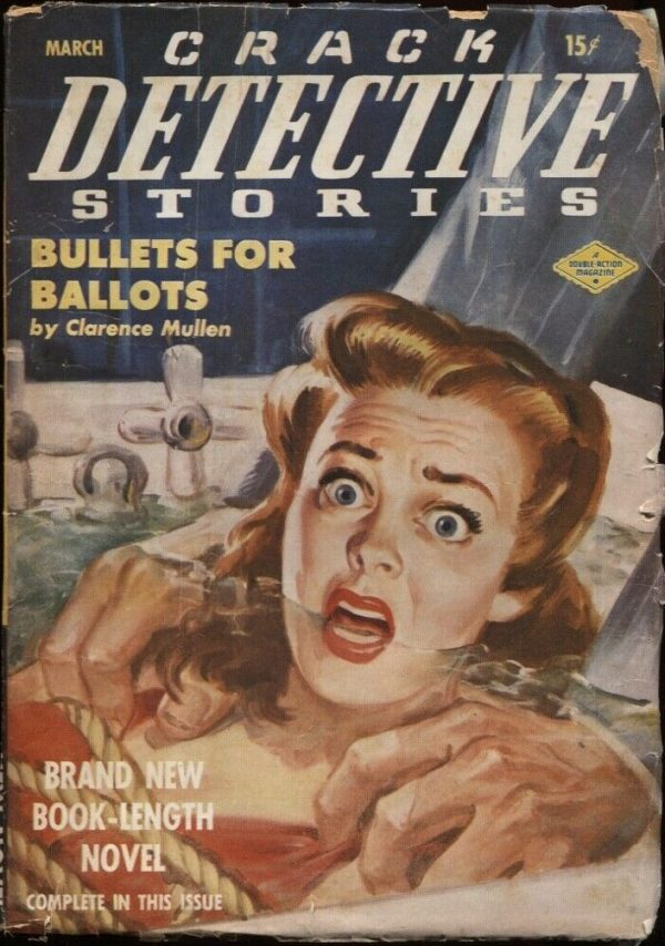 Crack Detective Stories 1949 March