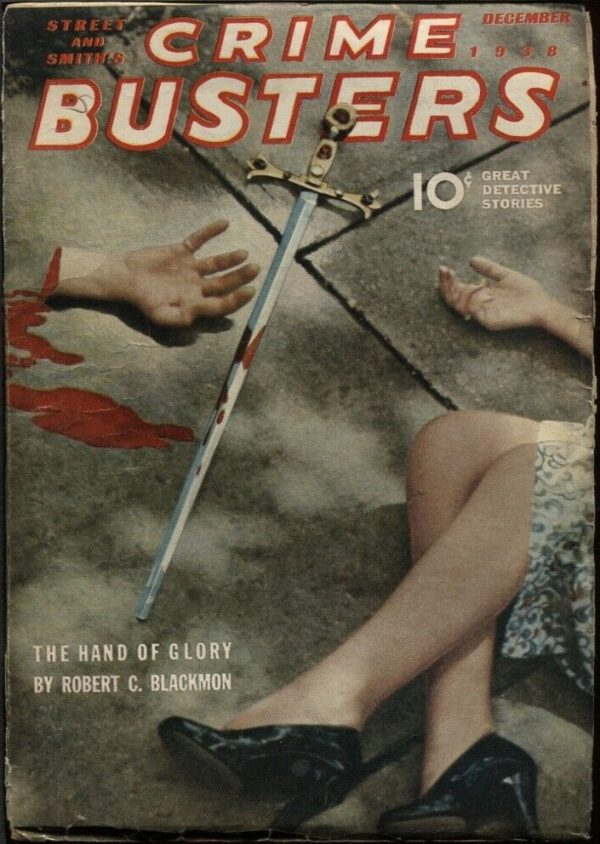 Crime Busters 1938 December