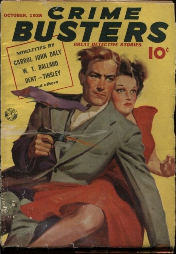 Crime Busters, October 1938