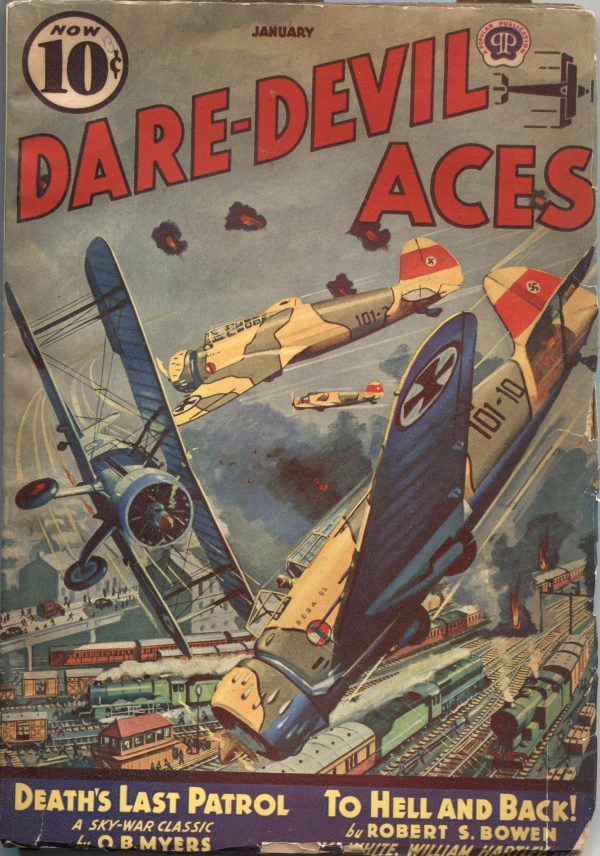 Dare-Devil Aces January 1940