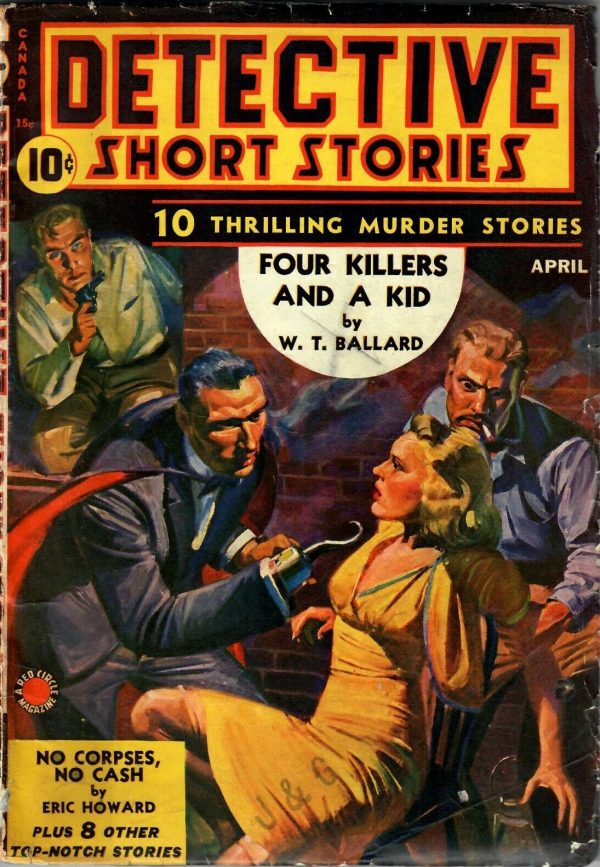 Detective Short Stories April 1941