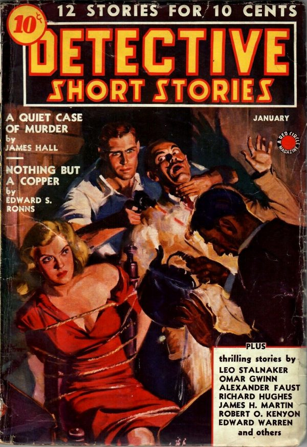 Detective Short Stories January 1939