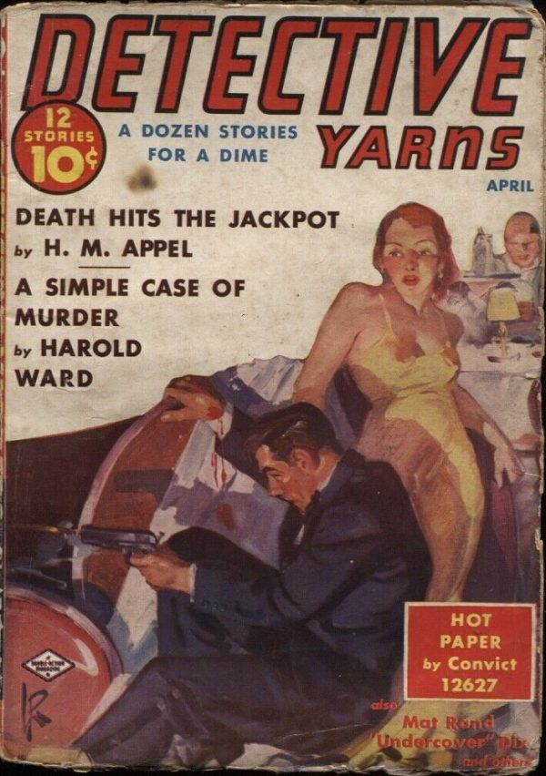 Detective Yarns 1939 April