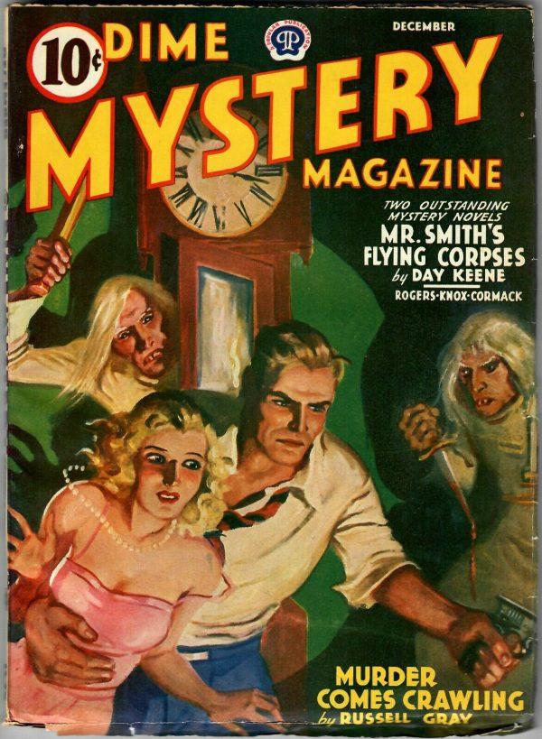 Dime Mystery December 1940