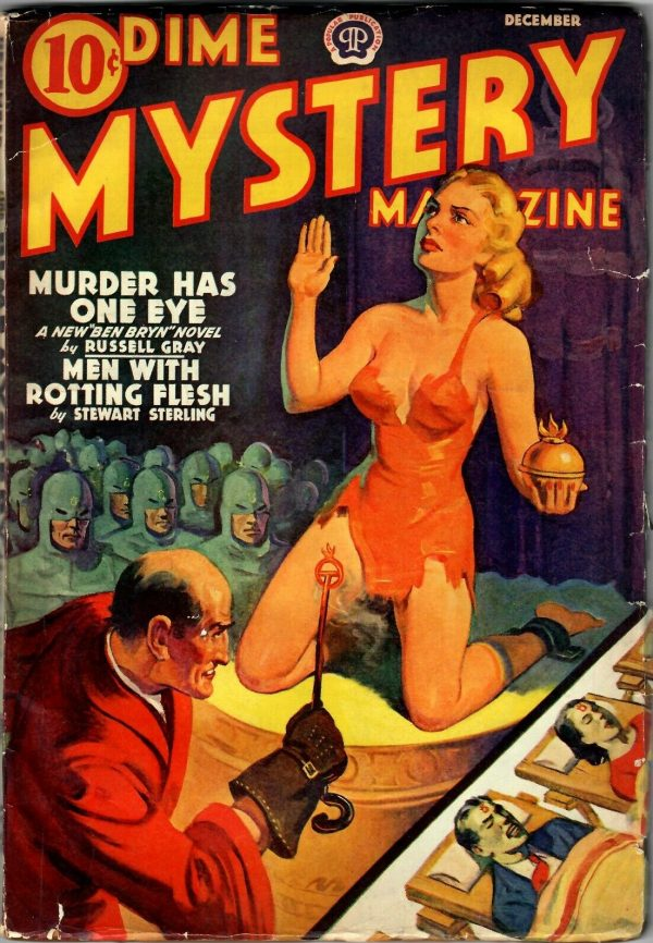 Dime Mystery Magazine, December 1939