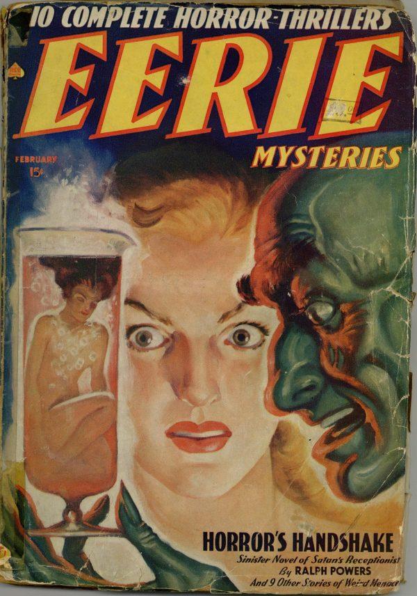 Eerie Mysteries February 1939