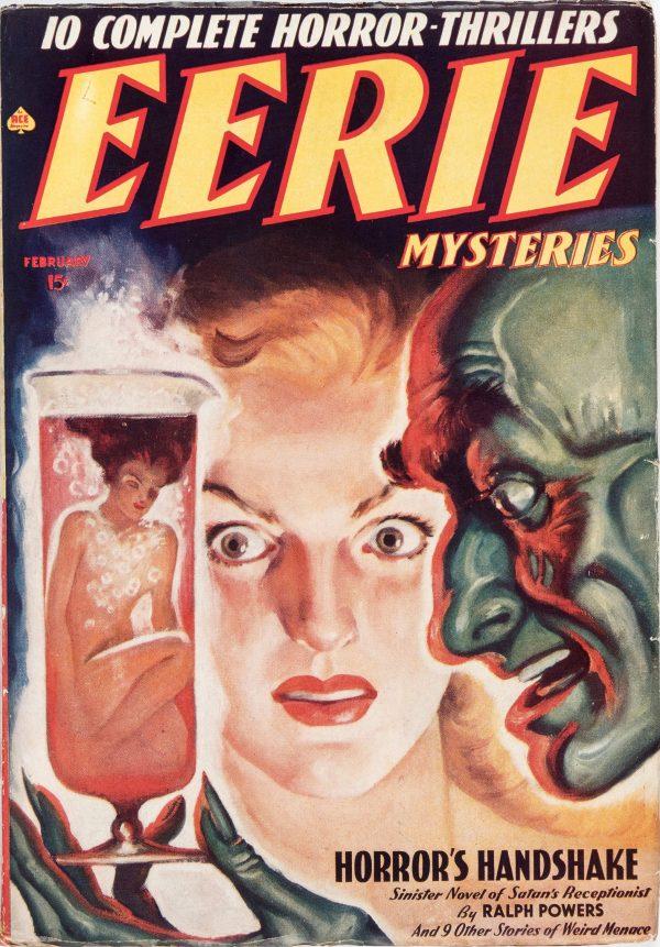 Eerie Mysteries Magazine - February 1939