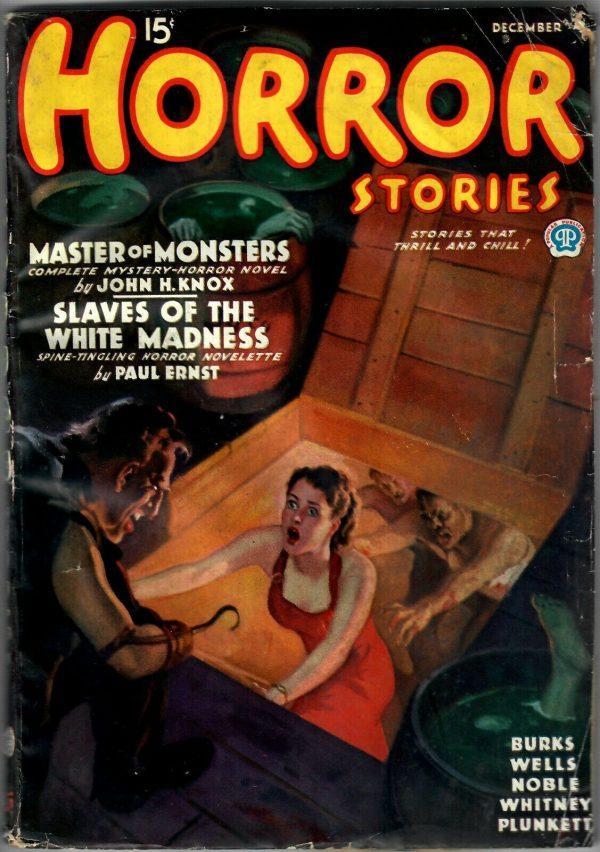 Horror Stories December 1935