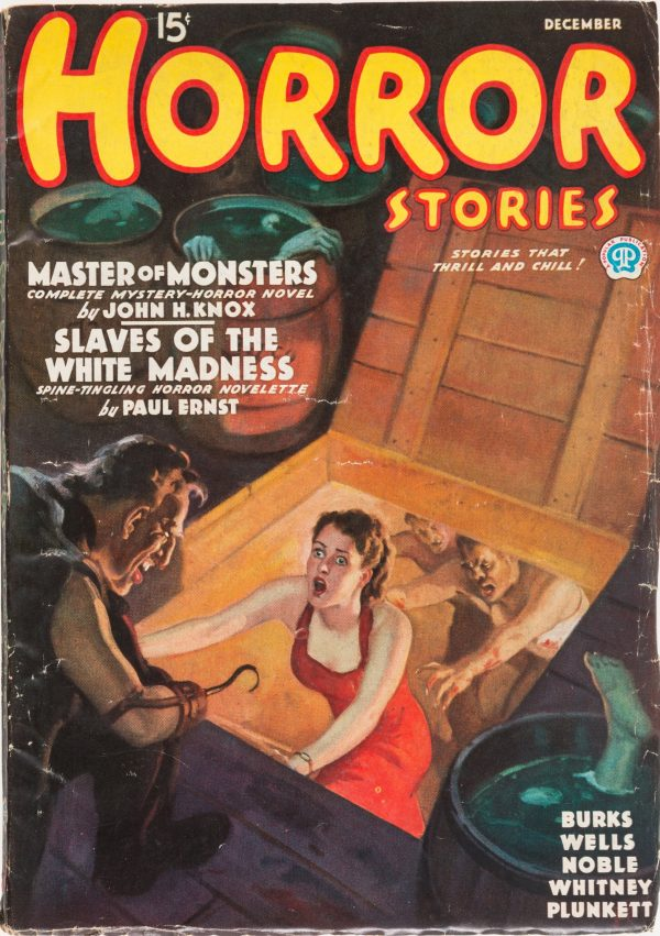 Horror Stories Magazine - December 1935