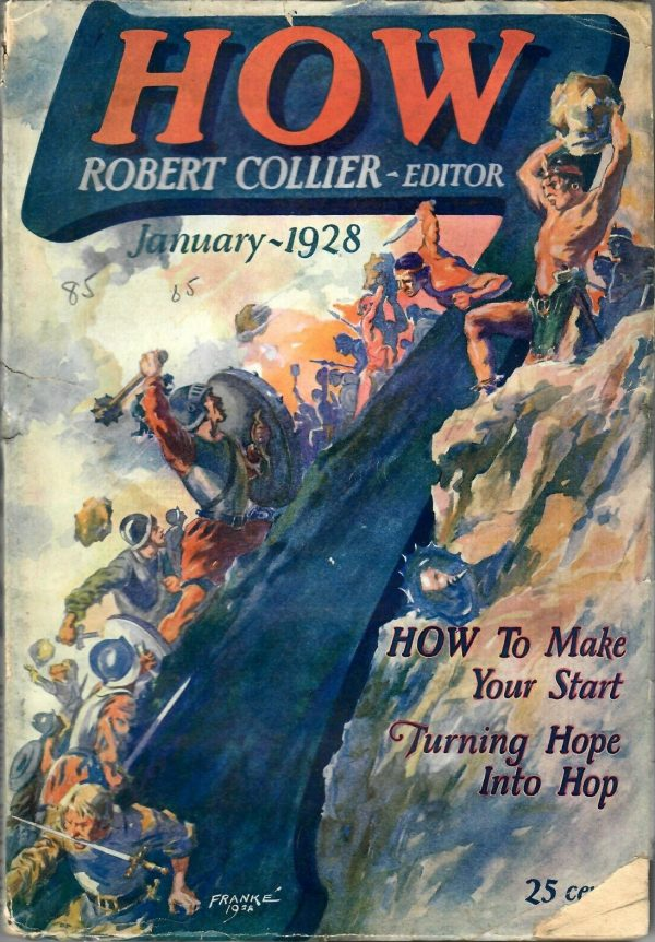 How 7, Vol 1 No 1, January 1928