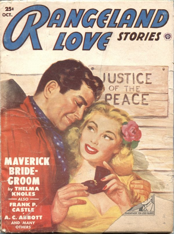 Rangeland Love Stories October 1950