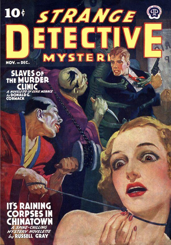 Strange Detective Mysteries November-December 1939