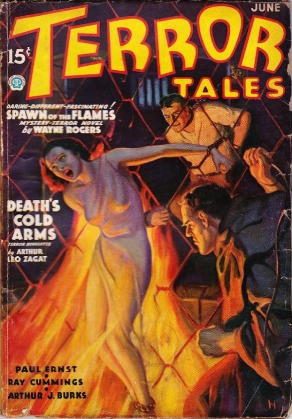 Terror Tales Magazine, June 1936