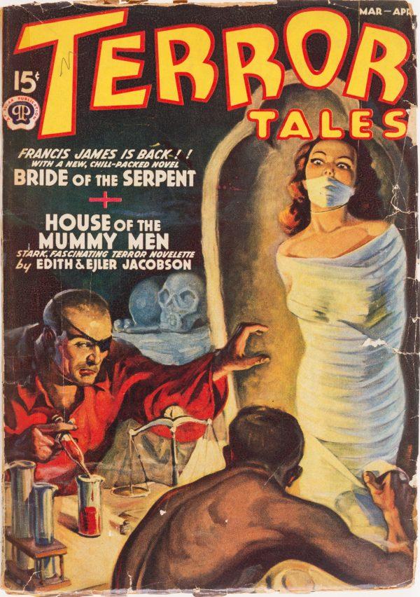 Terror Tales - March April 1939