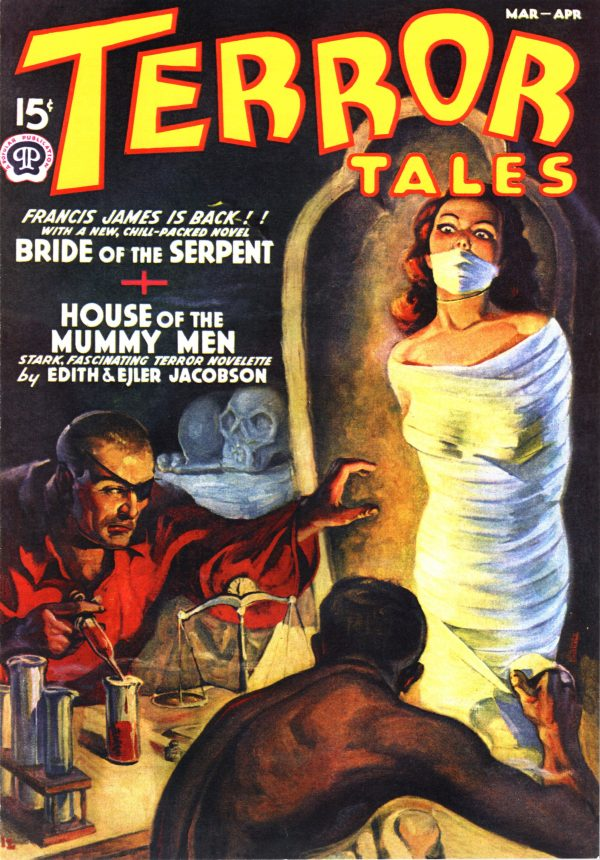 Terror Tales, March-April 1939