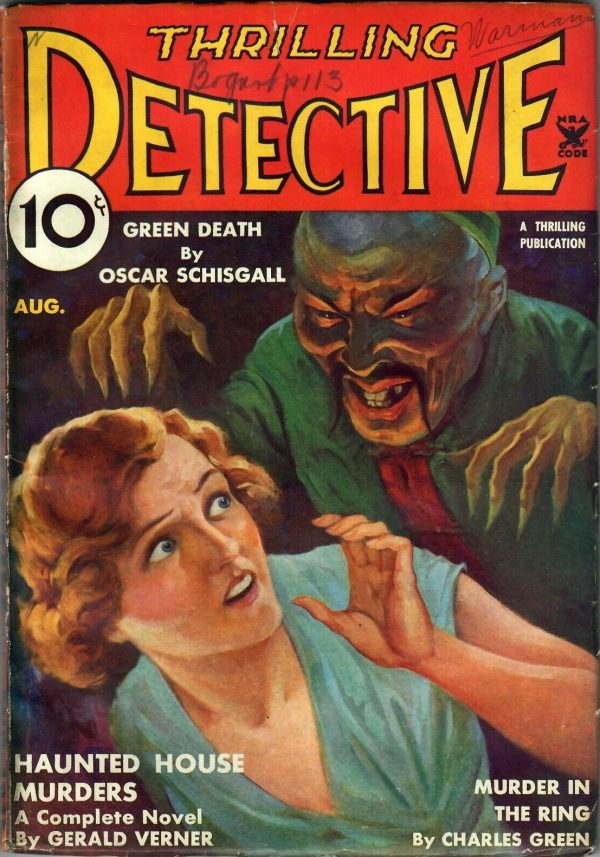 Thrilling Detective August 1935