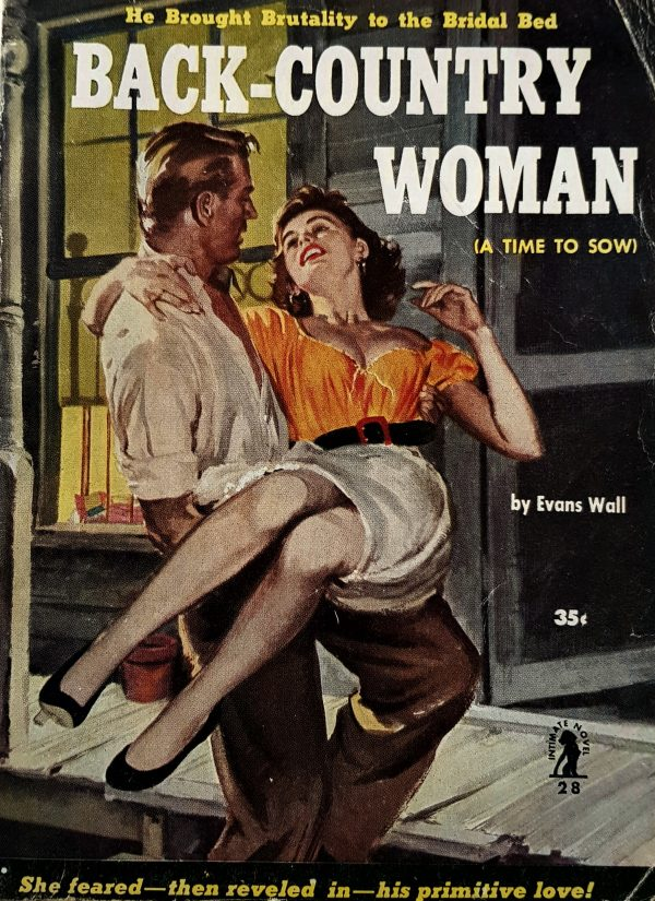 49173089831-back-country-woman-intimate-novel-no-28-evans-wall-1952