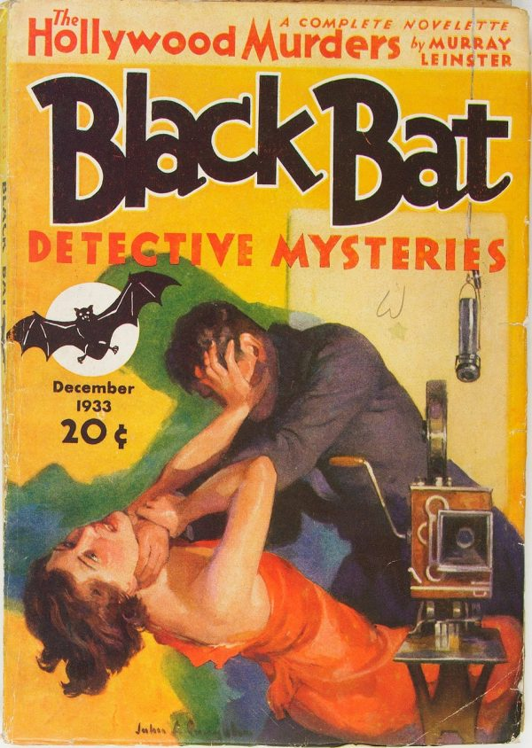 Black Bat Detective Mysteries - December 1933