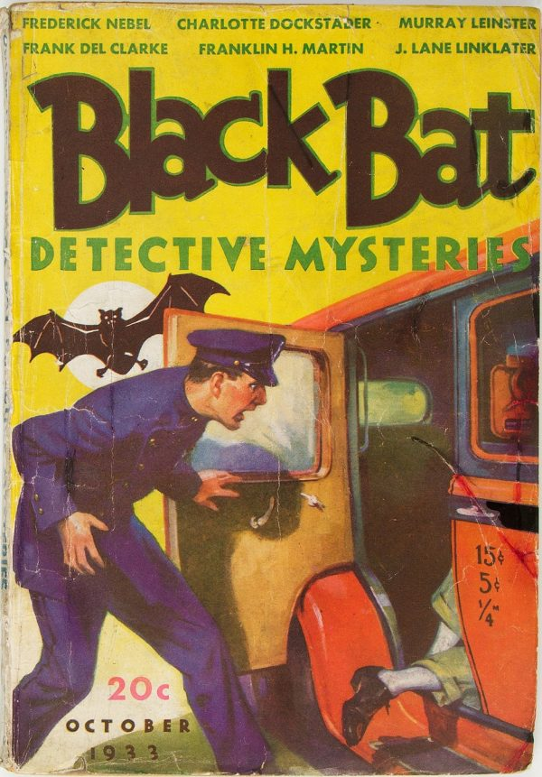 Black Bat Detective Mysteries - October 1933