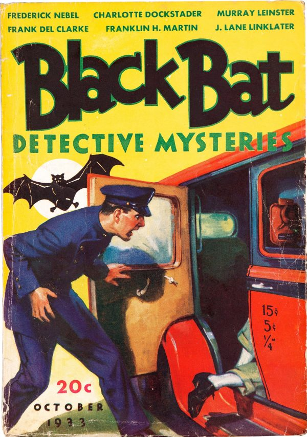 Black Bat Detective - October 1933