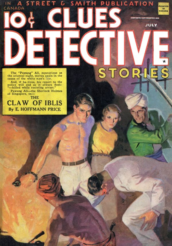 Clues Detective Stories July 1935