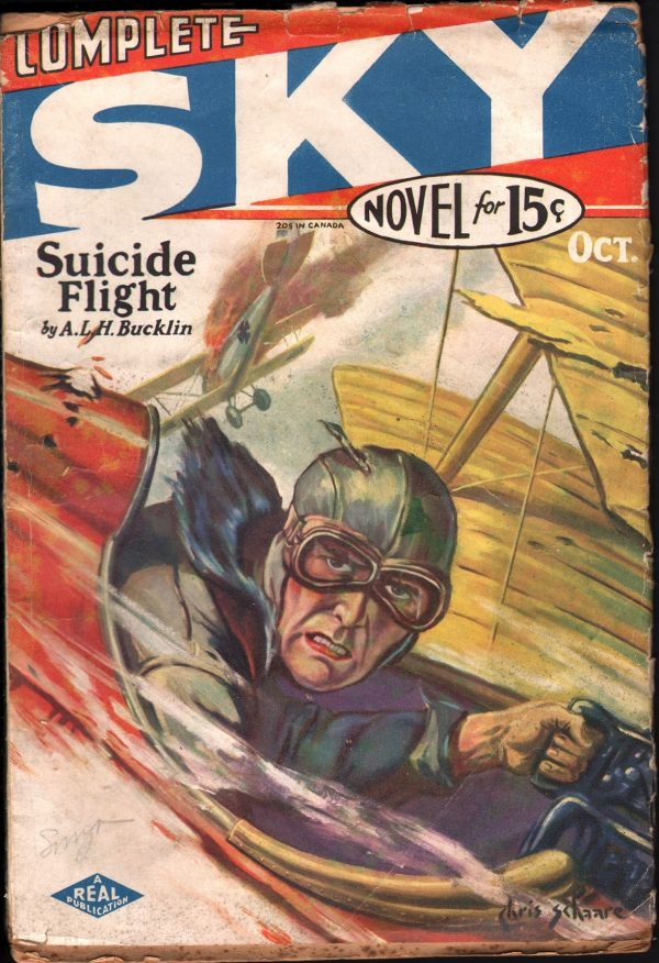 Complete Sky Novel October 1930