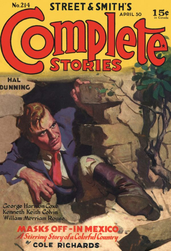 Complete Stories April 30, 1934