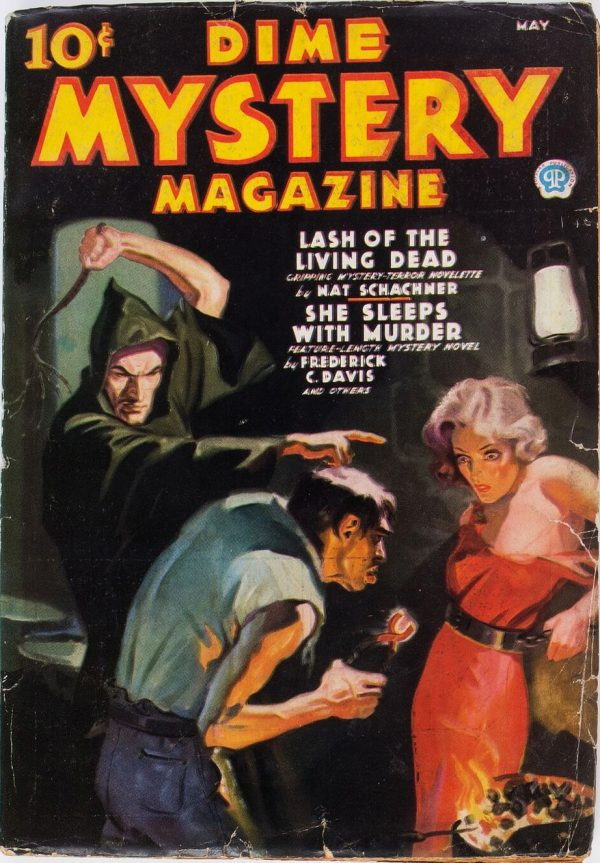 Dime Mystery Magazine - May 1936