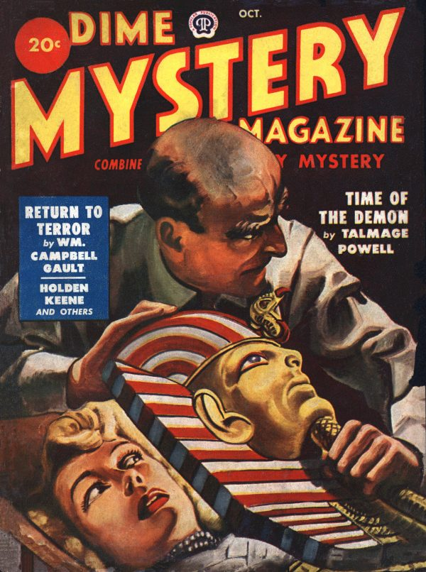 Dime Mystery October 1949