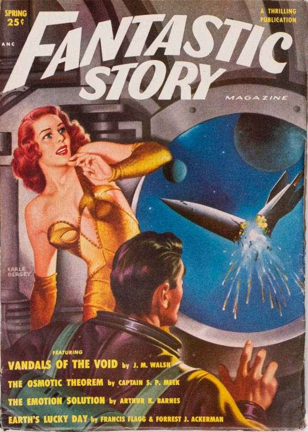 Fantastic Story Quarterly, Spring 1951
