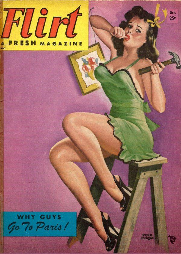Flirt October 1954 Peter Driben