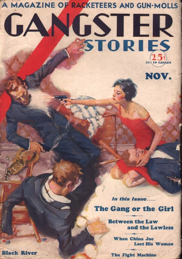 Gangster Stories November 1929