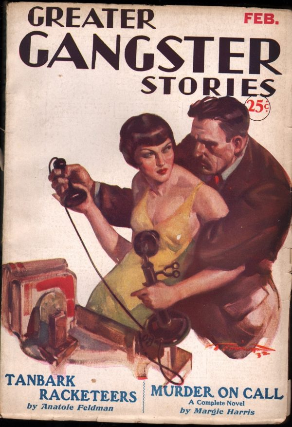 Greater Gangster Stories February 1933